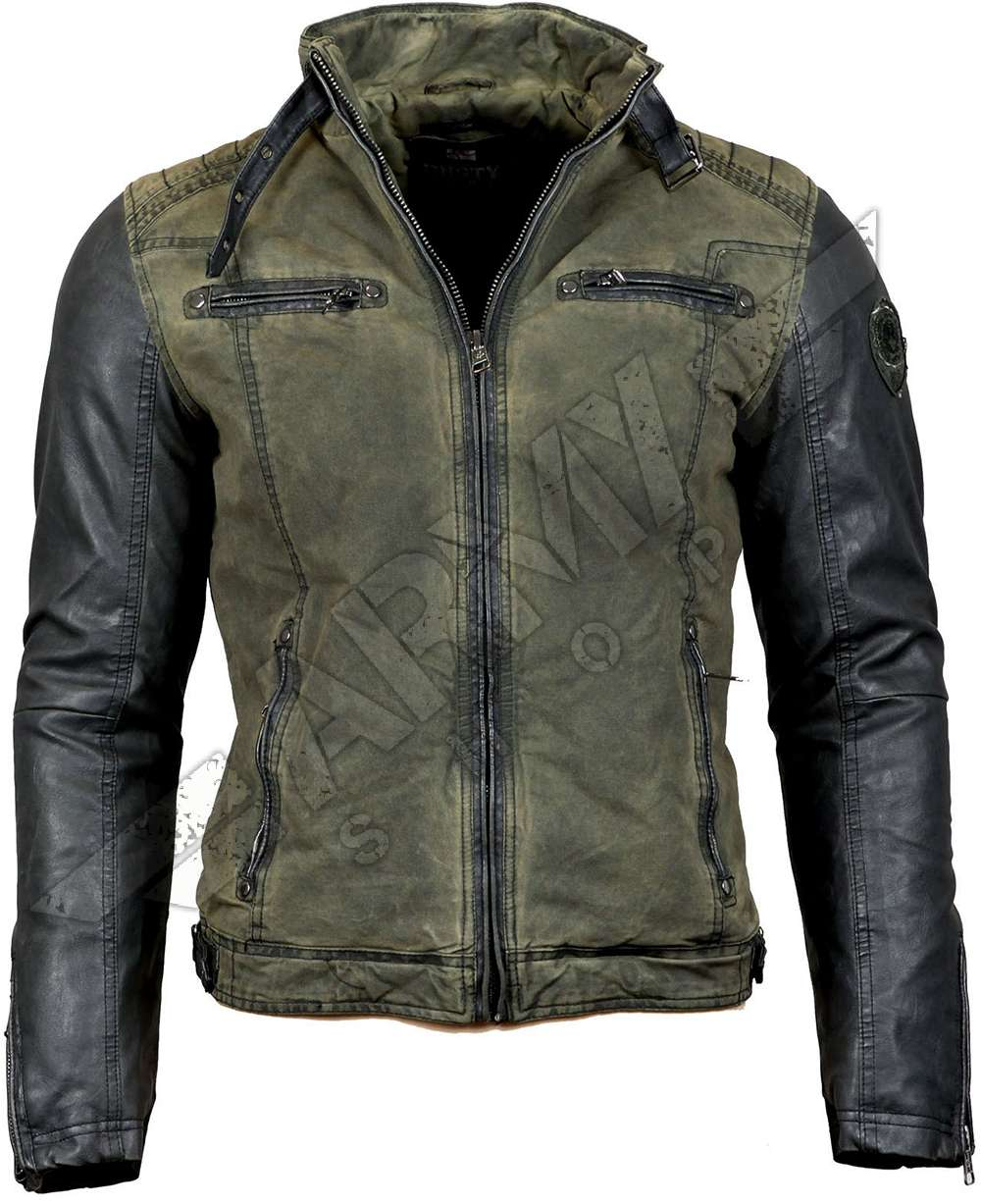 Men jacket Ricardo - Rusty Neal - Olive  a0d777d3a6
