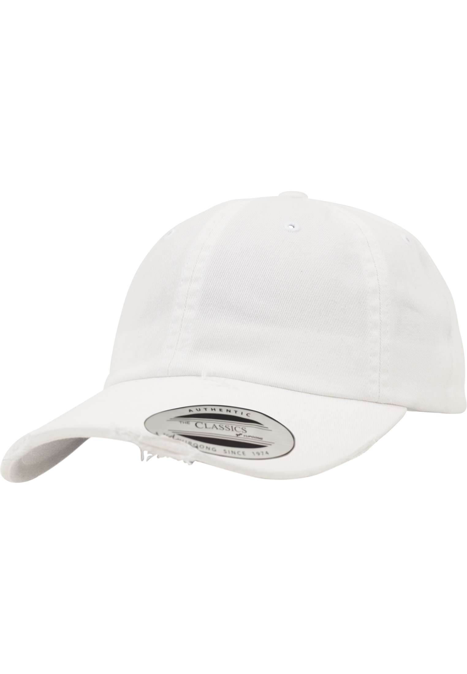 845e6bf404233 Low Profile Destroyed Cap - FLEXFIT CAPS - White