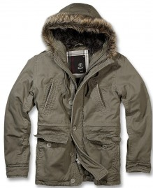 Military men winter jacket Explorer vintage