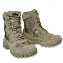 TACTICAL BOOT M.YKK ZIPPER