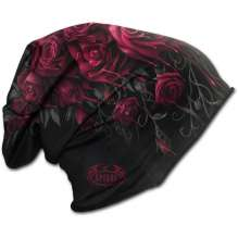 Light Cotton Beanie BLOOD ROSE