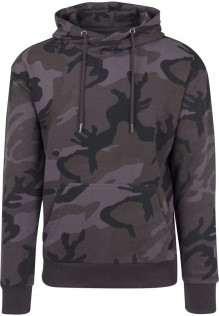 High Neck Camo Hoody Levi