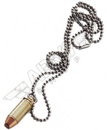 Neckles with a bullet - cal 9mm