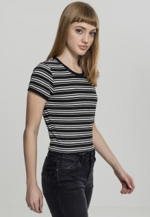 Ladies Rib Short Tee Sheri