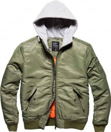 Bomber Jacket with Sweat Hood WESTEND
