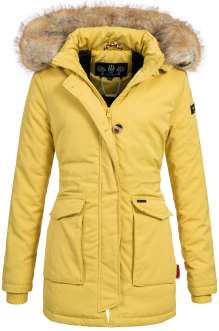Navahoo ladies Winter jacket Schneeengel - Yellow