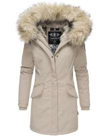 Navahoo ladies Winter jacket Cristal - Beige