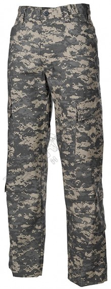 US ACU Field camouflage army Pants Rip Stop