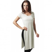 Ladies Side Slit Viscose Long Tee