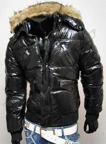 Men winter jacket Yellow stone