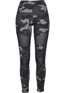 Ladies Camo Tech Mesh Leggings Clara