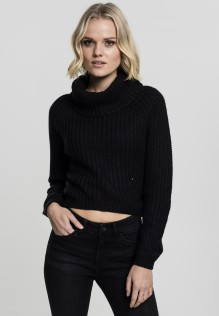Ladies Short Turtleneck Sweater Ruth