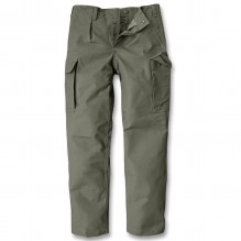 Army pants Moleskin, washed
