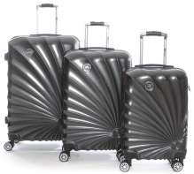 Set of 3 luggages suitcases SUNRISE