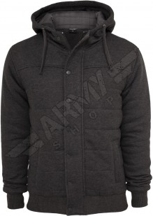 Sweat winter jacket with hood Bjorn