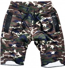 Men camuflage sweatshorts