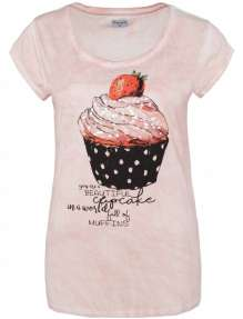 Ladies T-Shirt Cupcake
