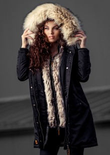 Premium ladies winter parka Daylight