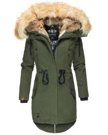 Ladies winter parka Bombii - Olive