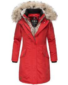 Premium ladies winter parka Daylight - Red