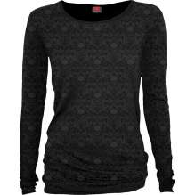 Ladies Top long sleeve GOTHIC ELEGANCE - Scroll Impression