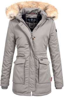 Navahoo ladies Winter jacket Schneeengel - Grey