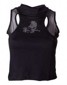 Ladies Top - GLASGOW SKULL STONES TOP