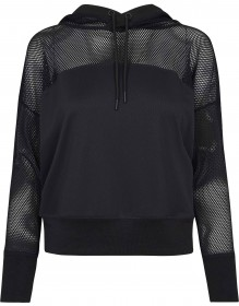 Ladies Mesh Hoody