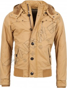 Men hooded jacket Welcome Camel