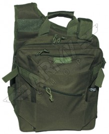 Vest, bagpack and bag in one