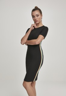 Ladies Multicolor Side Taped Dress Diana