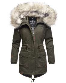 Navahoo ladies Winter jacket Honigfee - Olive