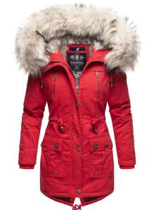 Navahoo ladies Winter jacket Honigfee - Red