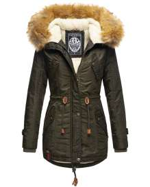 Navahoo girls Winter jacket La Viva - Green