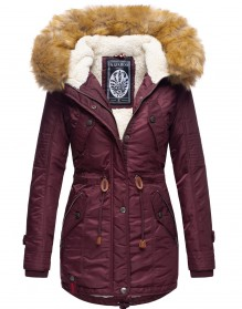 Navahoo girls Winter jacket La Viva - Wine