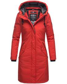 Navahoo Ladies Winter Parka Letiziaa - Red