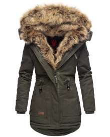 Navahoo ladies winter coat Dilara - Green