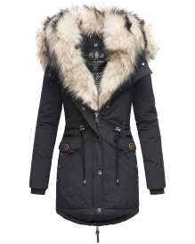 Navahoo ladies winter parka SWEETY Princess - Black