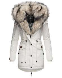 Navahoo ladies winter parka SWEETY Princess - White