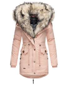 Navahoo ladies winter parka SWEETY Princess - Rosa