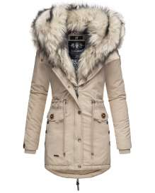 Navahoo ladies winter parka SWEETY Princess - Taupe