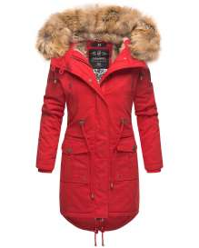 Navahoo Ladies Winter Parka Rosinchen - Red