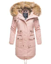 Navahoo Ladies Winter Parka Rosinchen - Rosa