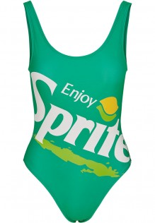 Ladies Sprite Logo Swimsuit