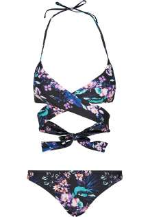 Ladies Draped Pattern Bikini Harper
