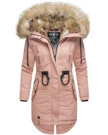 Ladies winter parka Bombii - Rosa