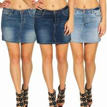 Ladies Jeans Skirt Brielle