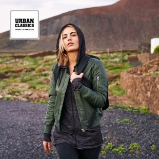 189c3b36 Ladies Basic Bomber Jacket Manya - Urban Classics - Olive | Army ...