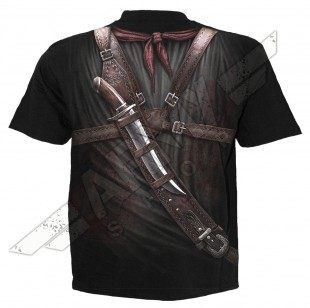 T-Shirt Allover print HOLSTER WRAP